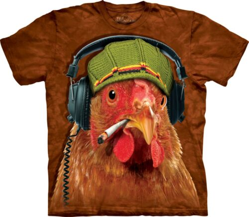 Fried Chicken Animal T Shirt Adult Unisex The Mountain