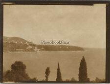 Menton Roquebrune-Cap-Martin France Photo amateur Vintage argentique vers 1910