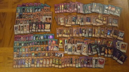 YuGiOh Holos Lot 300 Plus Holos And Commons And Rares Mystery Pack
