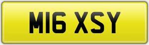 MISSY-RARE-CAR-REG-NUMBER-PLATE-M16-XSY-ALL-FEES-PAID-MELISSA-KISS-MISS-MEL