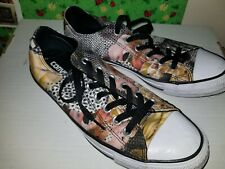 a886f9756d05 Converse Chuck Taylor All Star Digital Floral Ox 553299F Sneakers Size 8
