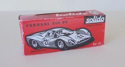 152 FERRARI 330 P 3 Repro box solido n