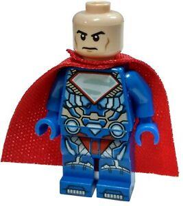LEGO DC Universe Super Heroes Lex Luthor Minifigure Black Suit Loose