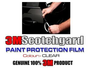 Details about 3M 3 Door Edge Guard Anti Scratch Scotchgard Clear Paint  Protect Film Sports Car