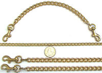 2.5 Mm Gold Clip-on Replacement Shoulder Bag Purse Clutch Pouch Chain Strap