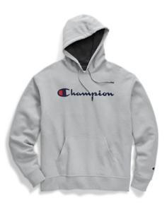 Champion Mens Standard Graphic Powerblend Fleece Pullover Hood