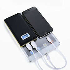 Dual USB 50000mAh External LCD Power Bank LED Battery Charger For Smart Phones