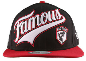 Details about Famous Stars   Straps Black Red White Ball Player New Era  Snapback Baseball Hat 5f7c7882f9f