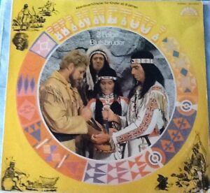 LP-Winnetou-I-2-Folge-Blutsbrueder-Paradiso-Abenteuerhoerspiel-ab-9-Jahren