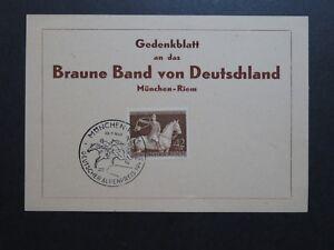 Germany-SC-B243-Mi-854-Braune-Band-FDC-Card-Z10235