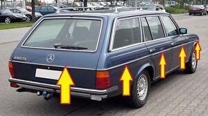 año de fabricación 1976-1985 Fußmattenset para mercedes Saloon w123