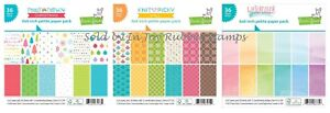 Lawn-Fawn-6X6-034-Really-Rainbow-Christmas-Scallops-or-Knit-Picky-Fall-Paper-Pack