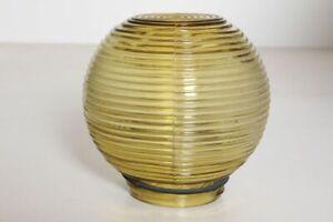 Schöner Lampenschirm Ersatzschirm Glasschirm Glaskugel getönt mit Gewinde