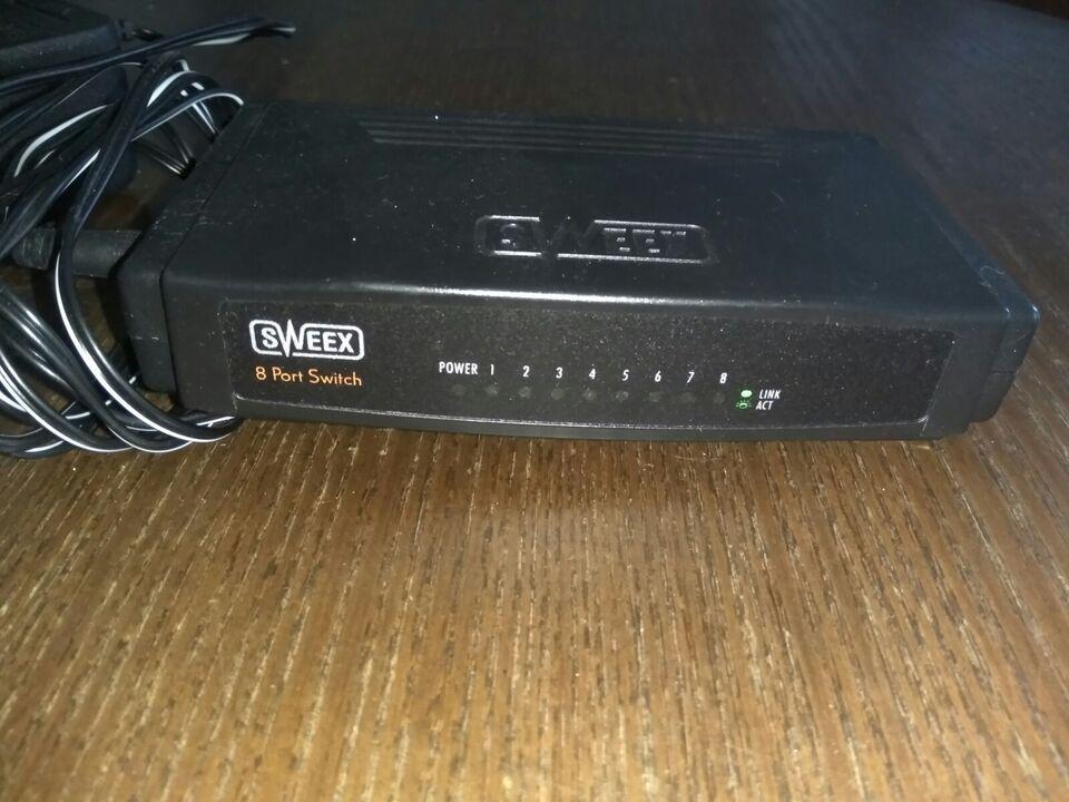 8 port switch, Sweex