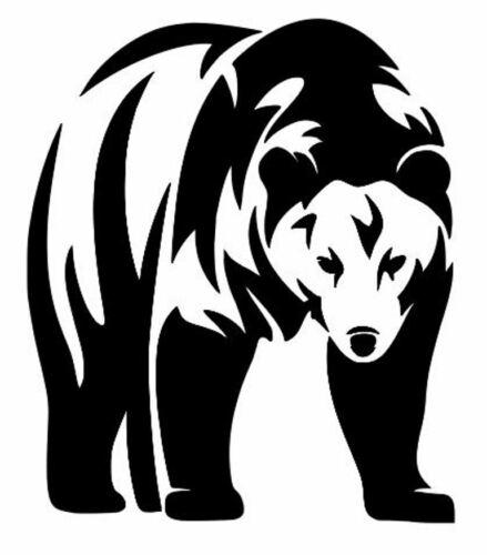 Die Cut Vinyl Decal Bear Wildlife DIY Graphics Craft 20 Colors Car Truck #200