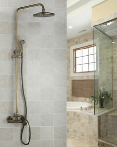 8 Shower Head Bathroom Faucet Antique