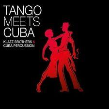 KLAZZ BROTHERS & CUBA PERCUSSION - TANGO MEETS CUBA   CD NEU