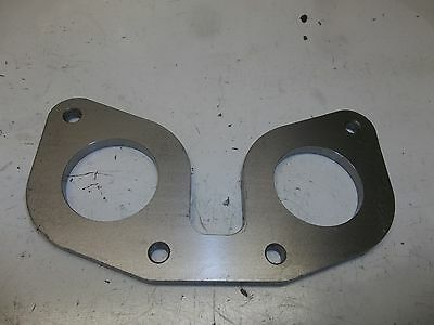 """36mm Weber DCOE or Dellorto DHLA mounting flange 1//4/"""" thick steel"""