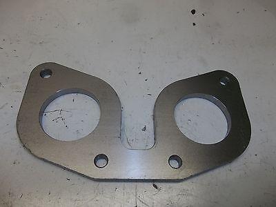 "Weber 48 IDF//EMPI HPMX//DELLORTO DRLA mounting 1//4/"" steel flange custom manifold"
