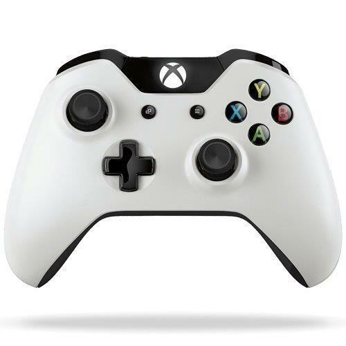Xbox Eins Kabelloser Controller - Sunset Overdrive Schnee Storm Weiß ohne 3.5mm