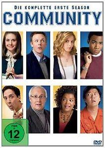 Community-Die-komplette-erste-Season-4-DVDs-von-Antho-DVD-Zustand-gut