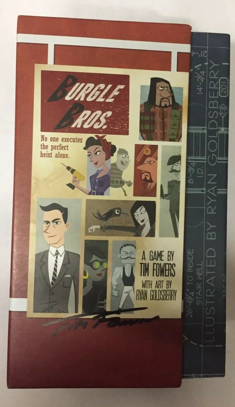 Burgle Bros - Signed By Author