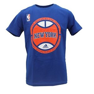 bf069d232 New York Knicks Official NBA Adidas Apparel Kids Youth Size T-Shirt ...