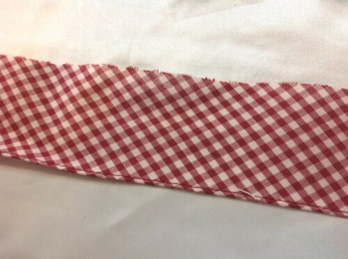 Wine Color Gingham Trim   7//16 inch square   2 1//2 inches wide   2 yards