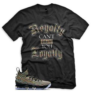e77de13135c New BLACK ROYALTY T Shirt for Nike Lebron 15 Four horsemen Fruity ...