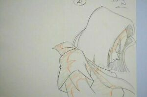 Original Android 17 Dragon Ball Z Cel DBZ Cell Anime Production Cel Pencil Douga