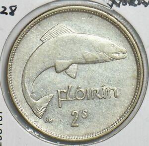 Ireland 1928 Florin Fish animal 298157 combine