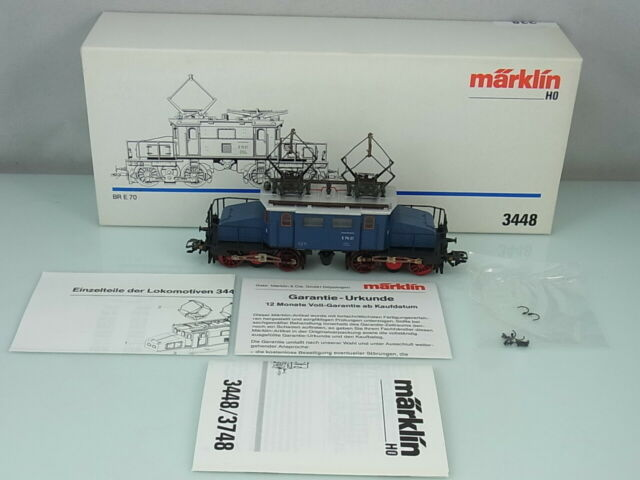 Märklin HO 3448 Br E70 (E70 21) DB Deutsche E-Lok Elektrolokomotive OVP