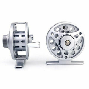 Fly-Reel-1-2-3-4-5-6-7-8-WT-Large-Arbor-Silver-Aluminum-Fly-Fishing-Reel-NEW