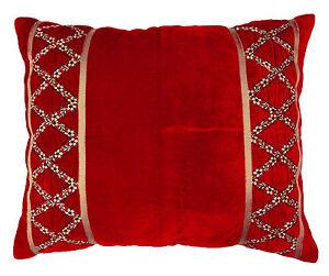 Home-Decor-velours-jeter-Coussin-housse-couvre-oreiller-lit-choisir-la-taille