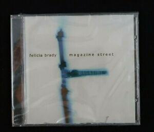 Magazine Street by Felicia Brady (CD, 2001) New Sealed ! Cracks in case