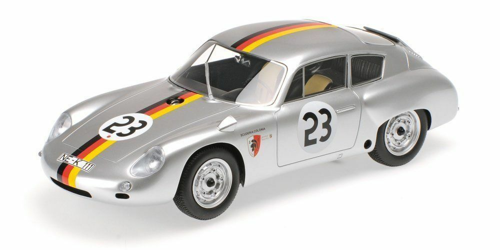 1 18 Minichamps PORSCHE 356 B 1600 GS Carrera GTL Abarth Solitude 1962 L.E1 999