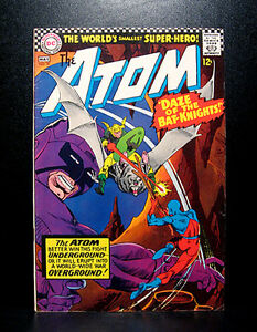COMICS-DC-The-Atom-30-1967-RARE-batman-flash-arrow-justice-league