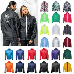 0797fed49 Image is loading Contrast-Lightweight-Fold-Away-Jacket-Unisex-Water-Wind-