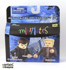Marvel Minimates Series 17 Spider-Man Movie Peter Parker /& Eddie Brock