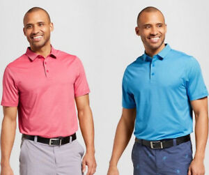 C9-Champion-Men-039-s-Striped-Golf-Polo-Shirt-Duo-Dry-Choose-Color