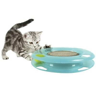Kitty City Swat Track and Scratcher - 11""