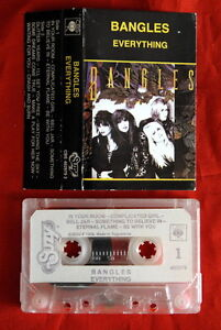 BANGLES-EVERYTHING-1989-RARE-EXYU-CASSETTE-TAPE