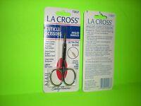 La Cross Cuticle Scissors Angled Handles 72827 Sealed