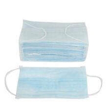50 Pcs Face Masks Elastic Ear Loop 3 Ply Medical Surgical Dust Disposable Salon