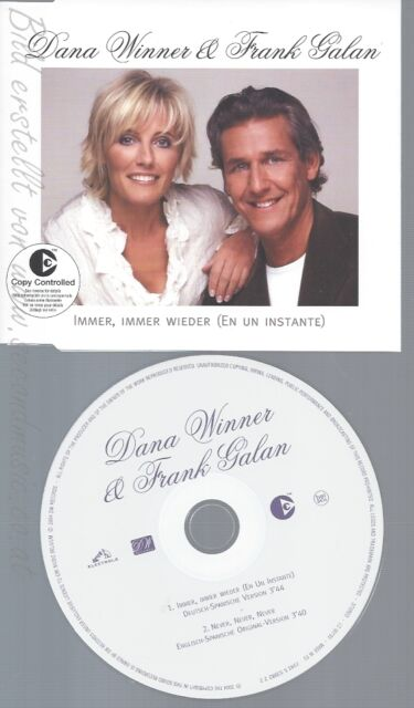 CD--DANA WINNER & FRANK GALAN -- ----EN UN INSTANTE-