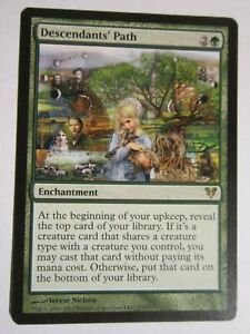 DESCENDANTS-039-PATH-ENCHANTMENT-CARD-MTG-MAGIC-THE-GATHERING-NEVER-PLAYED-NM