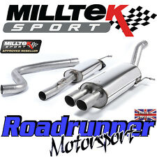 Milltek Fiesta ST200 Exhaust Cat Back RACE SYSTEM Resonated Titanium SSXFD145