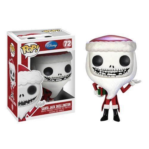 Nightmare Before Christmas Santa Jack Pop Vinyl Figure-New in Packaging