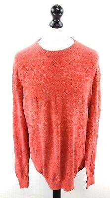 Ingegnoso Gap Da Uomo Maglione Pullover Rosso Xl Cotone & Poliestere-mostra Il Titolo Originale