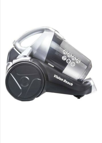 Hoover Vision Reach Bagless Cylinder Vacuum Cleaner, BF81VS02 Cyclonic, Powerful